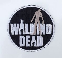 The Walking Dead Zombies Evil Embroidered Iron on or Sew on Patch Badge Emblem