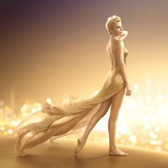 Foto: Charlize Theron is back, and in a new glittering gold dress by Dior in a new J'adore Dior ad campaign entitled 'The Future is Gold', the 39 year old Academy Award-winning actress sizzles. Read more: http://senat.us/1A4ugZO