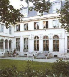 Exterior of the Petit Hôtel de Bourrienne