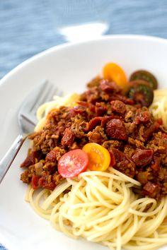 Köttfärssås, middagstips