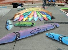 3 chalk art festival.