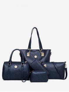 Female Mother Bag 5 Piece Set 2018 Luxury Handbags Women Bags Designer Leather Shoulder Bag Purses and Handbags Slanting Bag Luxury Handbags, Purses And Handbags, Mothers Bag, Zipper Bags, Shoulder Handbags, Shoulder Bags, Leather Design, Balenciaga City Bag, Fashion Bags
