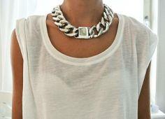 beautiful silver chain !