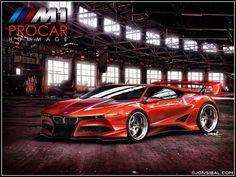 BMW M1 PROCAR Hommage by jonsibal on @DeviantArt
