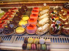 Paris pastry store