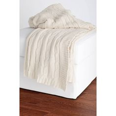 Rizzy Home Cable Knit Sweater Throw
