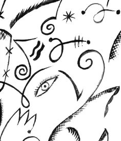 "aqqindex: "" Celia Birtwell, Eye Print, Circa 1975 """