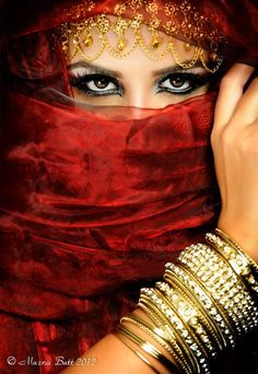 veiled beauty