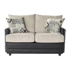 Searching Meachum Ebony Loveseat House of Hampton Luxury Home Furniture, Sofa Furniture, Living Room Furniture, Furniture Design, Hampton Furniture, Silver Sofa, Ashley Home, Sofa Upholstery, Living Room Sets