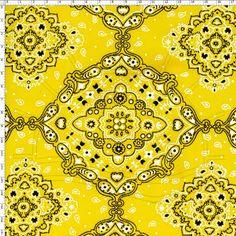 tecido estampa amarela - Pesquisa Google