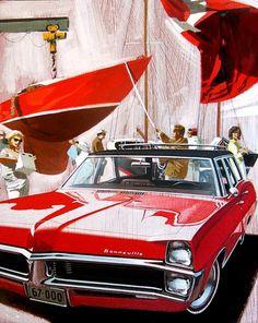 1967 Pontiac Bonneville Station Wagon - 'Onrust': Art Fitzpatrick and Van Kaufman