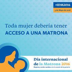 56% de las muertes maternas podría evitarse a través de la atención de profesionales cualificados como las #matronas. Feliz Día de la Matrona #IDM2016