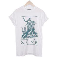 XCVB - Bitch Jungle White || #streetwear #tees  #fashion #menswear #summer #independent #clothing #designer #hiphop #skateboarding