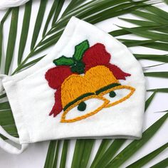 Diy Mask, Diy Face Mask, Xmas Bells, Christmas Embroidery, Christmas Angels, Reindeer, Embroidery Designs, Masks, Layers