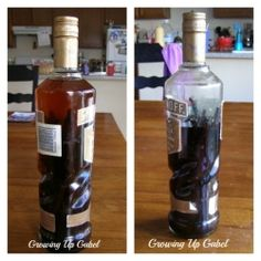 Making Your Own Vanilla Extract