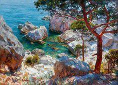 Крымский художник Сергей Свиридов | LukasGallery Artist Sviridov Sergey