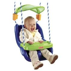 Fisher-Price Infant to Toddler Swing with Sunshield  Up to 20% Off Select Fisher-Price Outdoor Toys and Ride-Ons-Price: $38.99