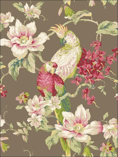wallpaperstogo.com WTG-106495 Ashford House Traditional Wallpaper