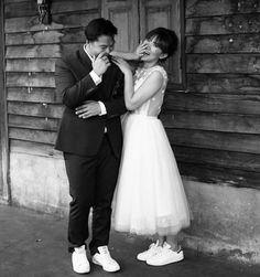 25 Bridal Sneakers Ideas For Maximal Comfort - crazyforus Bride Sneakers, Wedding Sneakers, Dress With Sneakers, Wedding Vans, Blush Wedding Shoes, Wedding Dresses, Trendy Wedding, Wedding Styles, Embellished Wedding Gowns