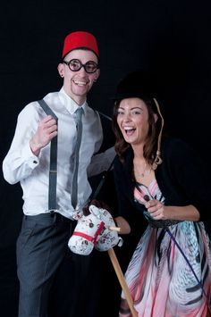 Damien and Laura - Photo Booth Images - kcentaine