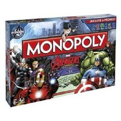 Play as your favourite Marvel Hero's in version of monopoly. Liberate Avengers tower from ultron's grasp! Assemble the avengers! The Avengers, Avengers Games, Avengers Movies, Monopoly Board, Monopoly Game, Monopoly Party, Hulk Marvel, Marvel Fan, Marvel Comics