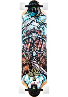 Landyachtz Top-Speed, Longboard-Complete, multicolored Titus Titus Skateshop #LongboardComplete #Skateboard #titus #titusskateshop