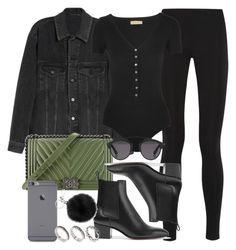 """Style #11475"" by vany-alvarado ❤ liked on Polyvore featuring Balenciaga, Michael Kors, Chanel, Christian Louboutin, ASOS and Christian Dior"