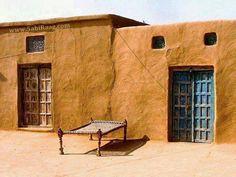 old punjabi house and bed # Rangla PUNJAB India