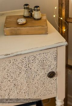 ornate antique detailing, repurposing upcycling