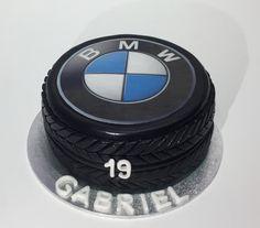 BMW Tire Birthday Cake BMW Reifen Geburtstags Torte