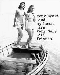 Soul friends...