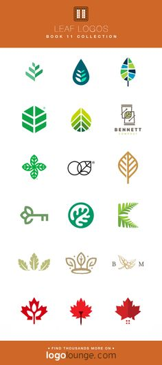 Book 11 Logo Collections - Leaf Logos A selection of the leaf logos chosen for LogoLounge Book with simplistic, linear shapes. Informations About Book 11 Logo Collec Self Branding, Logo Branding, Branding Design, Graphisches Design, Leaf Design, Japanese Logo, Luxury Logo, Leaf Logo, Green Logo