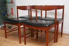 McIntosh Teak dining chairs
