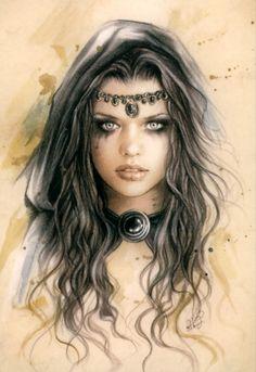 Victoria Frances - Gothic Fantasy Art (277 работ)