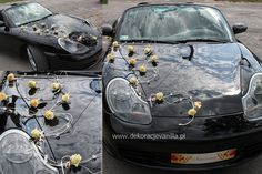 Dekoracja auta z rattanem