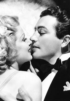 """haroldlloyds: """" Jean Harlow & Robert Taylor in Personal Property (1937) """""""