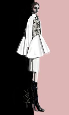 Le Noir et Le Rose | Stefania Belmonte | fashion design