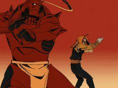 From Fullmetal Alchemist's first end theme, Kesenai Tsumi by Nana Kitade
