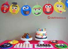 SweetThings: Sesame Street Sweet Table