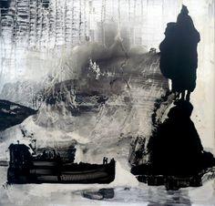 """Saatchi Online Artist Ilona Szalay; Painting, """"Haul"""" #art"""
