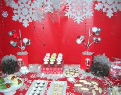 """Photo 1 of 15: dessert/cocktail party / Christmas/Holiday """"Santa's Mustache Bash""""   Catch My Party"""