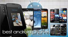 Los mejores teléfonos Android (2012)