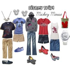 Disney Trip -- Mickey Mouse, created by bamakit.polyvore.com