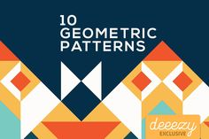 Colorful Geometric Patterns | Deeezy - Freebies with Extended License
