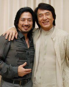 Hiroyuki Sanada und Jackie Chan