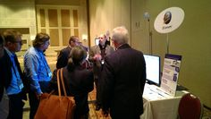 CTO Tour and ZCorum demo table at CableLabs Winter Conference in Orlando, FL.