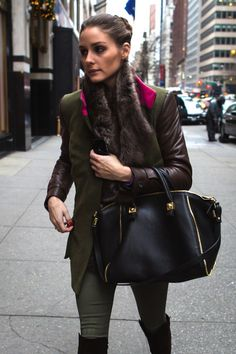Olivia Palermo in NYC 26.12.12