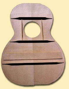 Hauver Guitars : ladder bracing