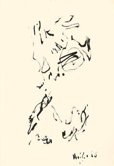 Der Maler Max Weiler 1910-2001 | Kunst - Zeichnungen und Arbeiten auf Papier - Autonomie der Mittel, 1960-1968 Movie Posters, Art, Paper, Middle, Drawing S, Kunst, Art Background, Film Poster, Performing Arts