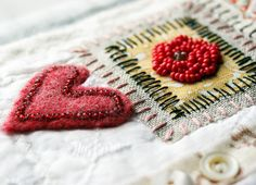 Stitching details by Rebecca Sower, via Flickr    http://www.flickr.com/photos/rebeccasower/#